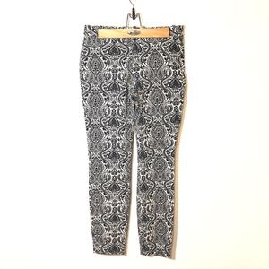 ZARA Black and White Trousers Size M